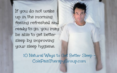 If you do not wake in the morning feeling refreshed, you may get better sleep with improving sleep hygiene.